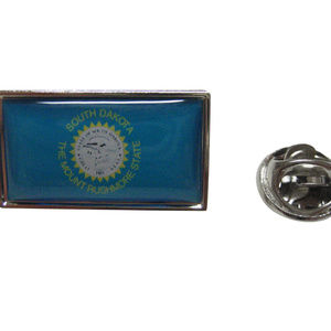 South Dakota Flag Lapel Pin